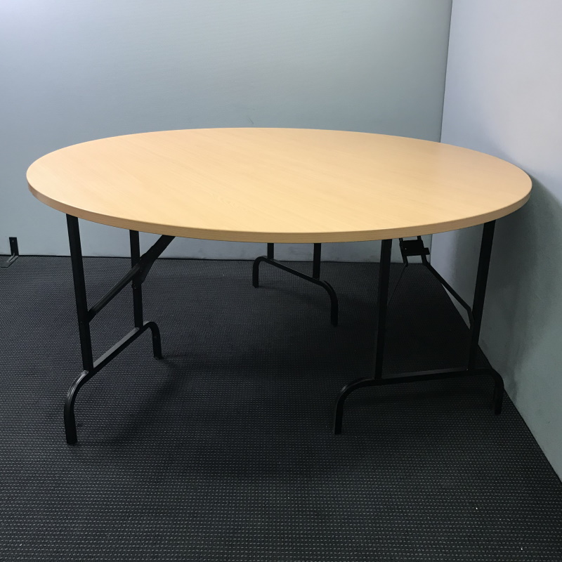 Foldable Round Table 1500d 6 Available Canterbury Used Office Furniture